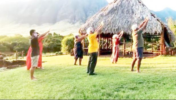 This cultural group from Hawaii shared an 'oli