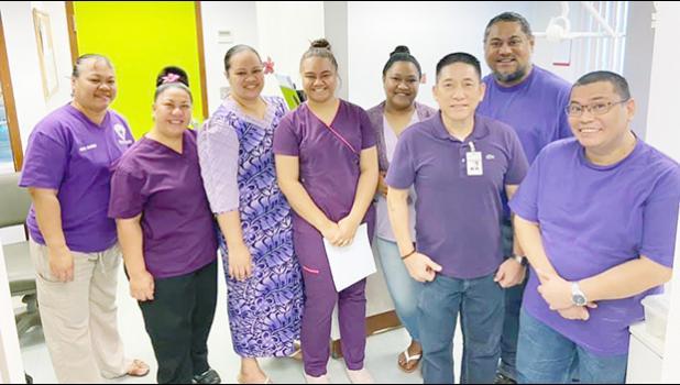 Health Department's staff