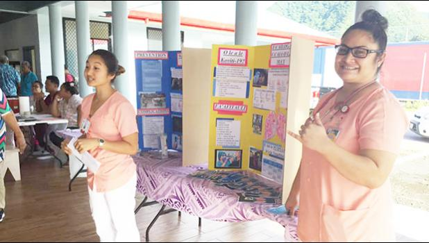 Highway to Health student nurses