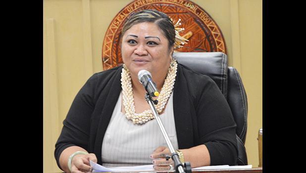 Human Resources director Lynn Pulou-Alaimalo