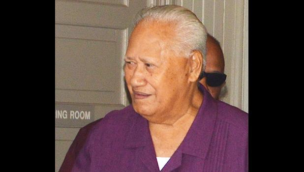 High Talking Chief Tuaolo Meko Aiumu