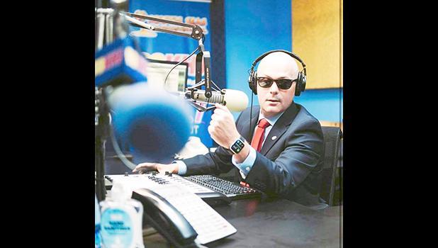 KHJ's Morning Show co-host John Raynar