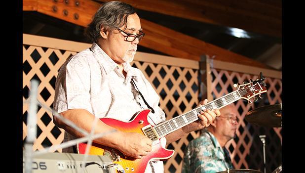 JR Hall during the 2015 Samoana Jazz & Arts Fest