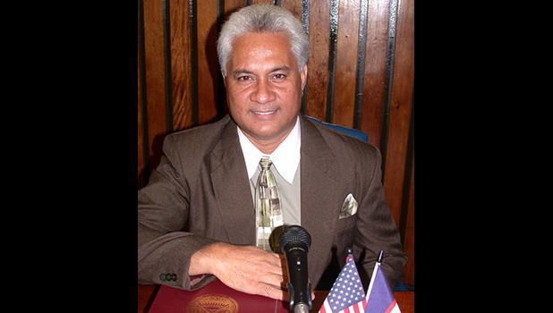 Tualauta Rep. Larry Sanitoa