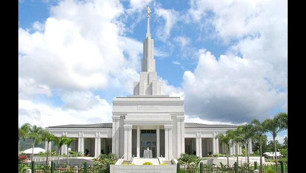 The Church of Jesus Christ of the Latter Day Saints temple in Apia