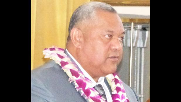 Governor Lemanu Peleti Mauga