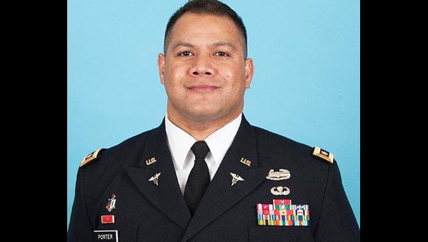 U.S. Lieutenant Colonel Ulu Elia Porter
