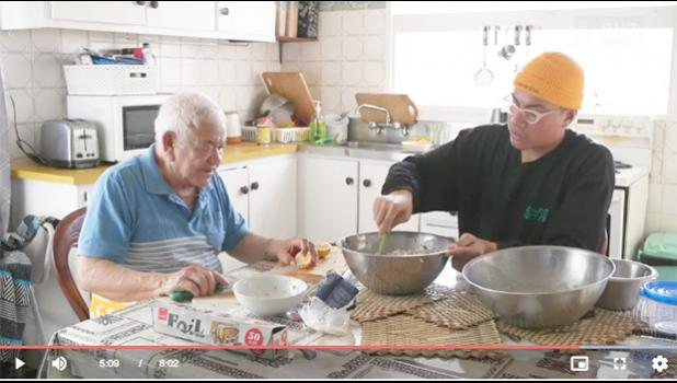 Mariner Fagaiava-Muller (right) and Faasootauloa Fepuleai Galo Fagaiava