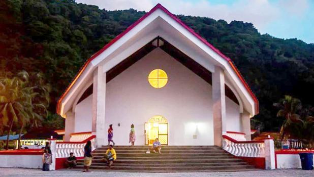 CCCAS church Faleasao Manu'a
