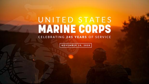 Marine Corps banner