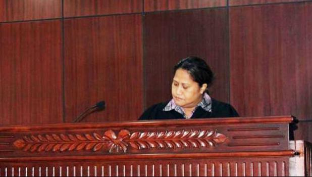 Supreme Court Justice, Mata Tuatagaloa [photo: RNZI]