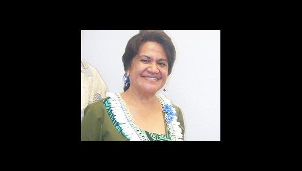 Education director, Dr. Ruth Matagi-Tofiga