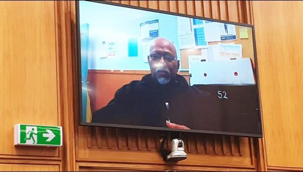 Joseph Matamata appearing via videolink