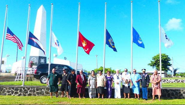 Veterans Memorial Center at the Tafuna Industrial Park
