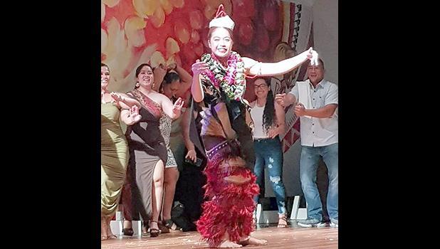 Miss American Samoa 2019-2020, Epifania Petelo.