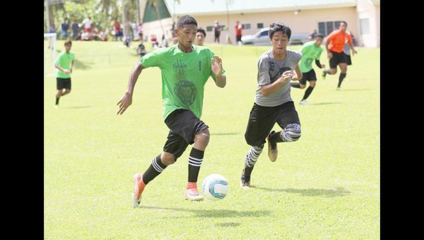 MJ Danielson, Leone Lions' varsity player