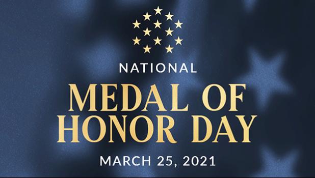 National Medal of Honor Day logo