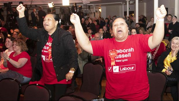 New Zealand Labour Party supporters