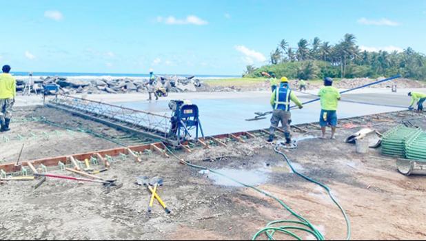 OFU AIRPORT CONSTRUCTION