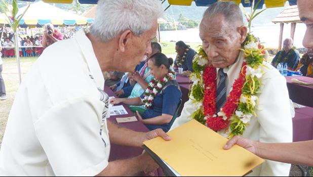 Fa'afeagaiga Malolo Manumalo Ta'ai Lemana and Pulu Ae Ae Jr