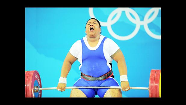 Ele Opeloge initially finished in fourth place in the women's over 75kg division at the 2008 Olympic Games. [Photo: AFP]