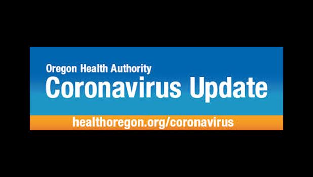 Oregon Health Authority Coronavirus update logo