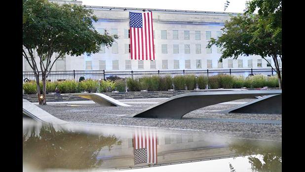 Flag at Pentagon
