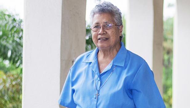 STILL GOING STRONG: Sister Emanuela Betham. (Photo: Samoa Observer)