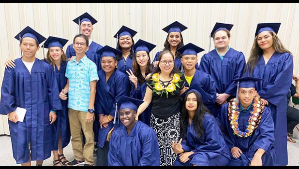 Pacific Horizons 2021 graduating class