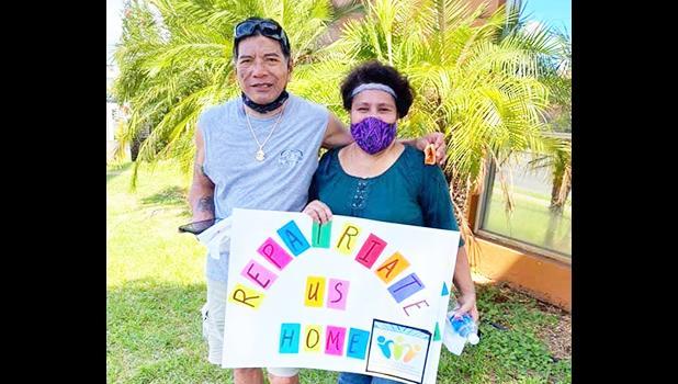 Wayne and Pua Pila