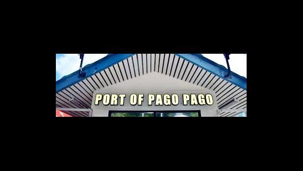 Port of Pago Pago sign