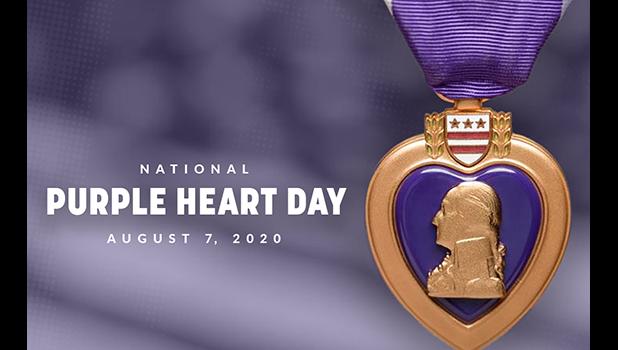 Purple Heart Day logo