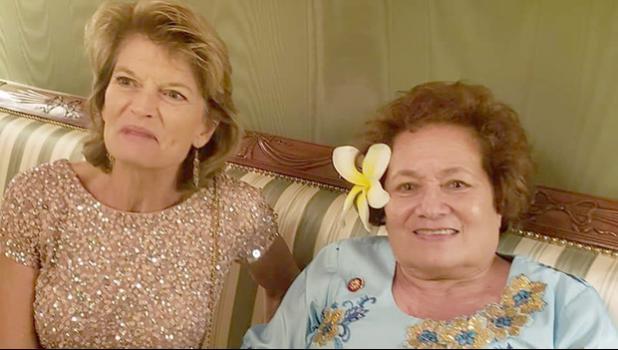 Congresswoman Amata and Sen. Lisa Murkowski of Alaska