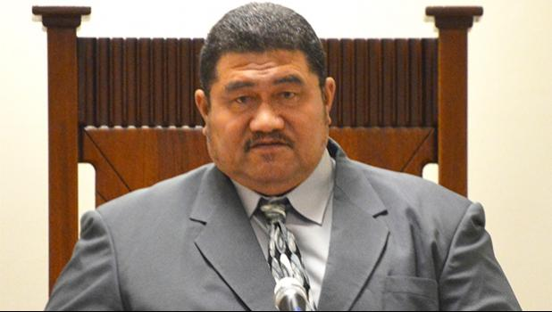 Vice Speaker of the House, Fetu Fetui Jr