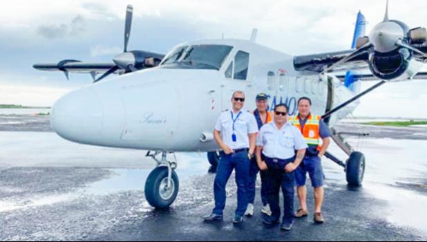 Samoa Airways crew
