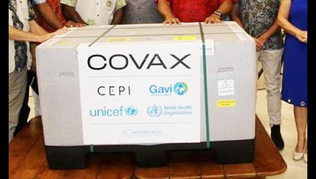 Covax facility allotment of the AstraZeneca vaccine