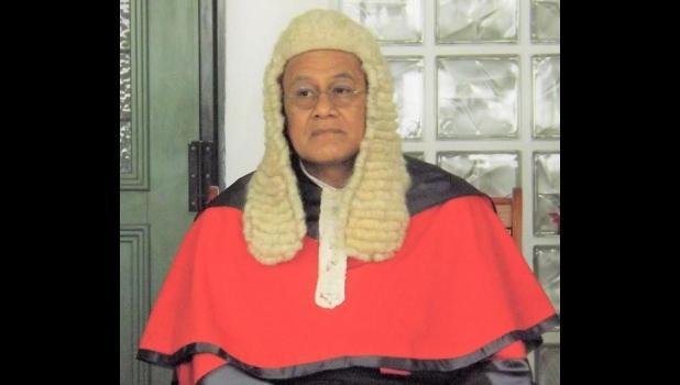 Samoa's Chief Justice, Satiu Simativa Perese