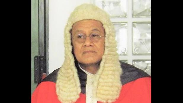Samoa Chief Justice, Satiu Simativa Perese