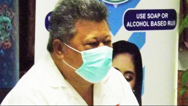 Director General of Health Leausa Take Naseri