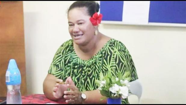 Samoa First Union rep  Saina Tomi