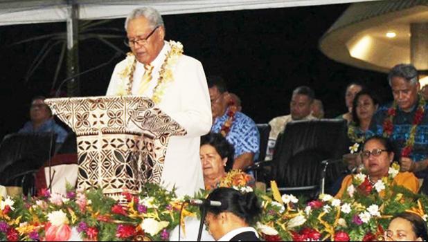 His Highness the Head of State, Tuimalealiifano Va'aleto'a Sualauvi II