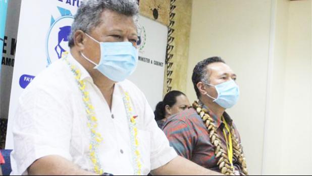 Samoa Director General of Health Leausa Dr Take Naseri