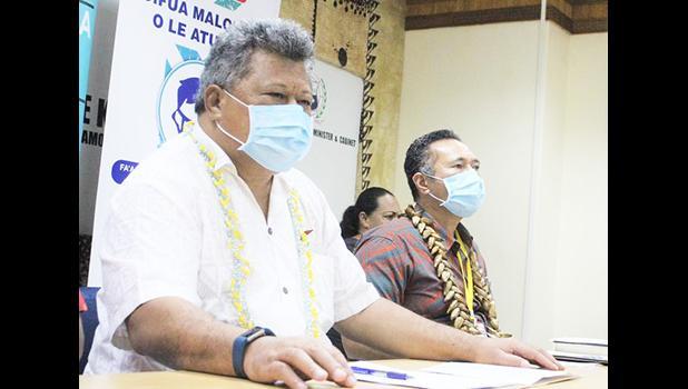 Director General of Health Leausa Dr Take Naseri