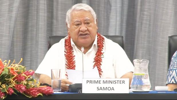 Prime Minister Tuilaepa Sailele Malielegaoi
