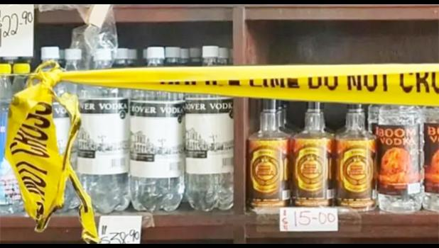 Locally made in Samoa brands of vodka