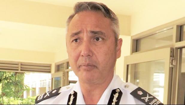 Police Commissioner Fuiavailili Egon Keil