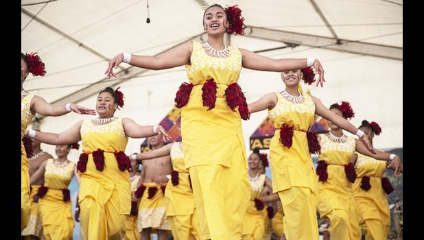 Avondale College on the Samoan stage