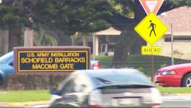 Schofield Barracks Macomb Gate