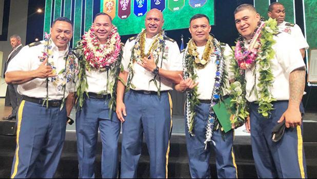 SGM Joshua Kazaka (Tafuna); SGM Paul Tuimavave (Futiga); SGM Pete Leao (Afao ); SGM Fale Tualamalii (Vailima, Upolu & Nuuuli); and SGM Amasaia Pousima (Afonotele).
