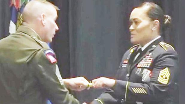 Master Sergeant Suzie Nu'uvali
